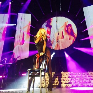 Mariah_shared_anotherPon_de_stage_Glasgow_musichunter