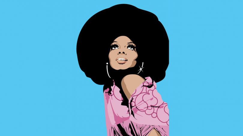 diana ross music hunter